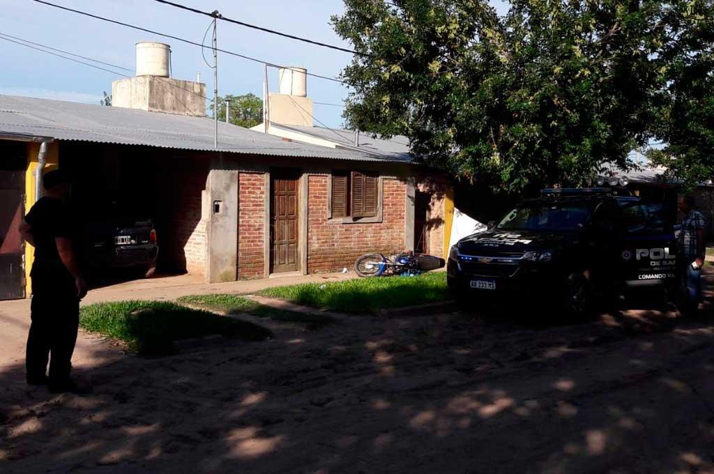 El homicidio se produjo el domingo 12 de enero a las cuatro de la tarde, en la puerta de la casa de la imputada, en el barrio Federal de la ciudad de San Javier. <strong>Foto:</strong> Corresponsalía San Javier