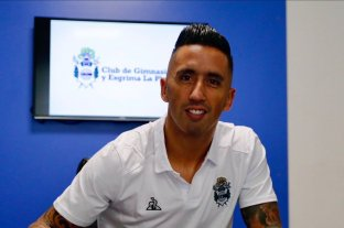 Lucas Barrios es el sexto refuerzo de Gimnasia La Plata