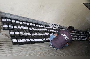Secuestran 207 kilos de cocaína ocultos en un camión que transportaba bananas