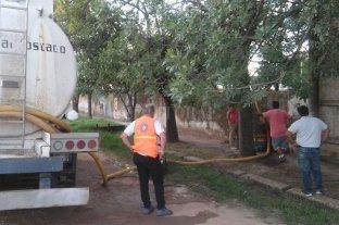 Asisten con agua potable a localidades del norte provincial afectadas por la sequía -  -