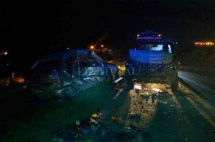 Siniestro fatal en el sur de Santa Fe -  -