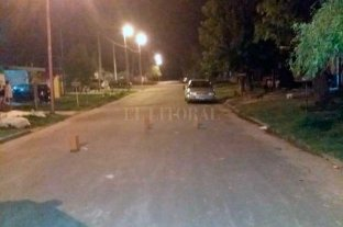 Asesinado a tiros en Puerto General San Martín - El lugar donde se produjo el crimen -