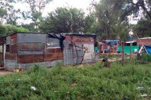 Tenía mordeduras de ratas la beba desnutrida - Xiomara era la menor de tres hermanos (2, 5 y 9) que vivían con sus padres en una casilla en el barrio Costa Azul.