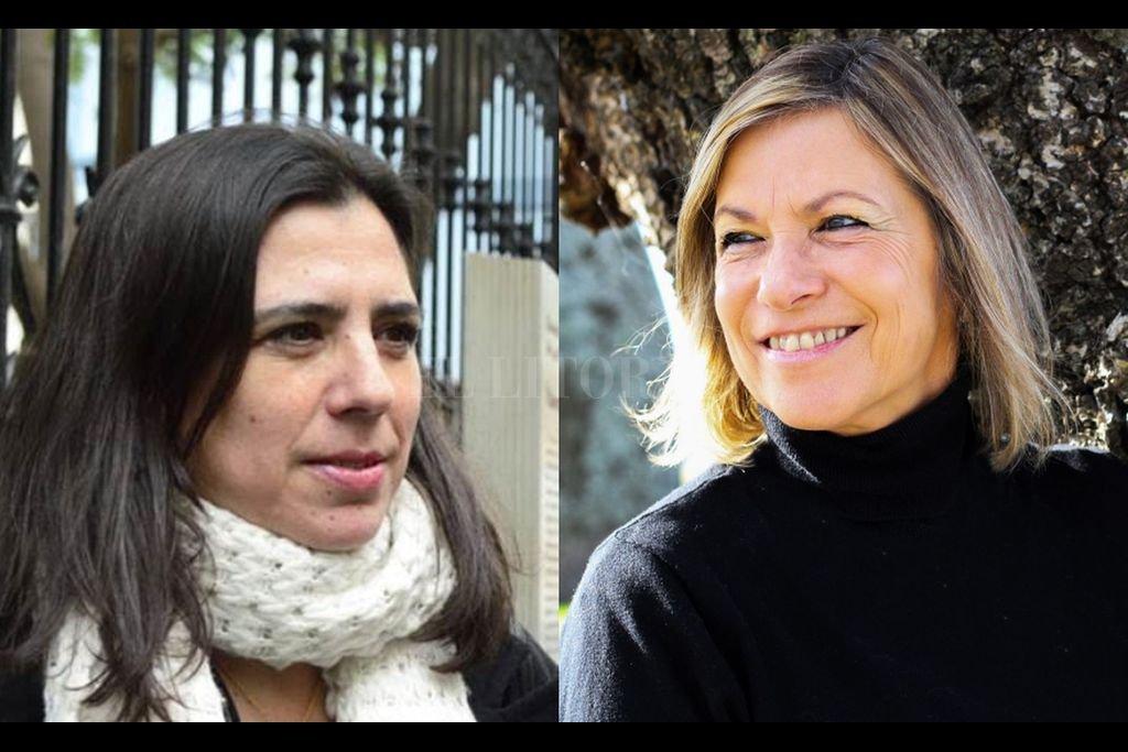 Rodríguez y Severín, compañeras de premio y edición. <strong>Foto:</strong> Gentileza de las autoras