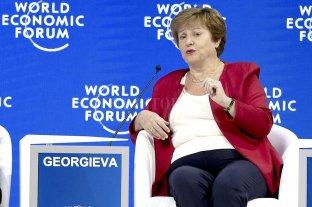 Llegan señales del FMI - Kristalina Georgieva, presidenta del FMI. -