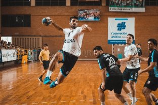 Handball: Argentina venció a Uruguay por amplia diferencia