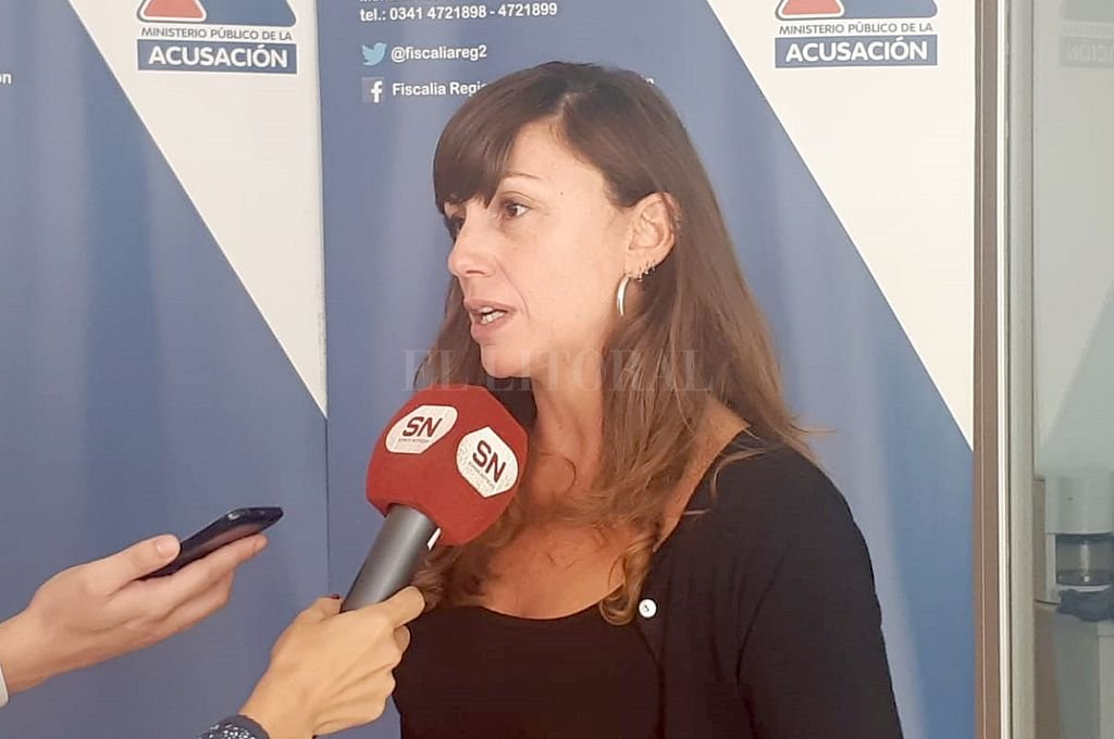 Fiscal Luciana Vallarella. Crédito: Captura digital
