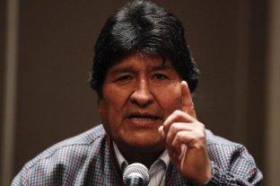 "Evo Morales denunció un ""golpe contra la democracia"" en Bolivia"
