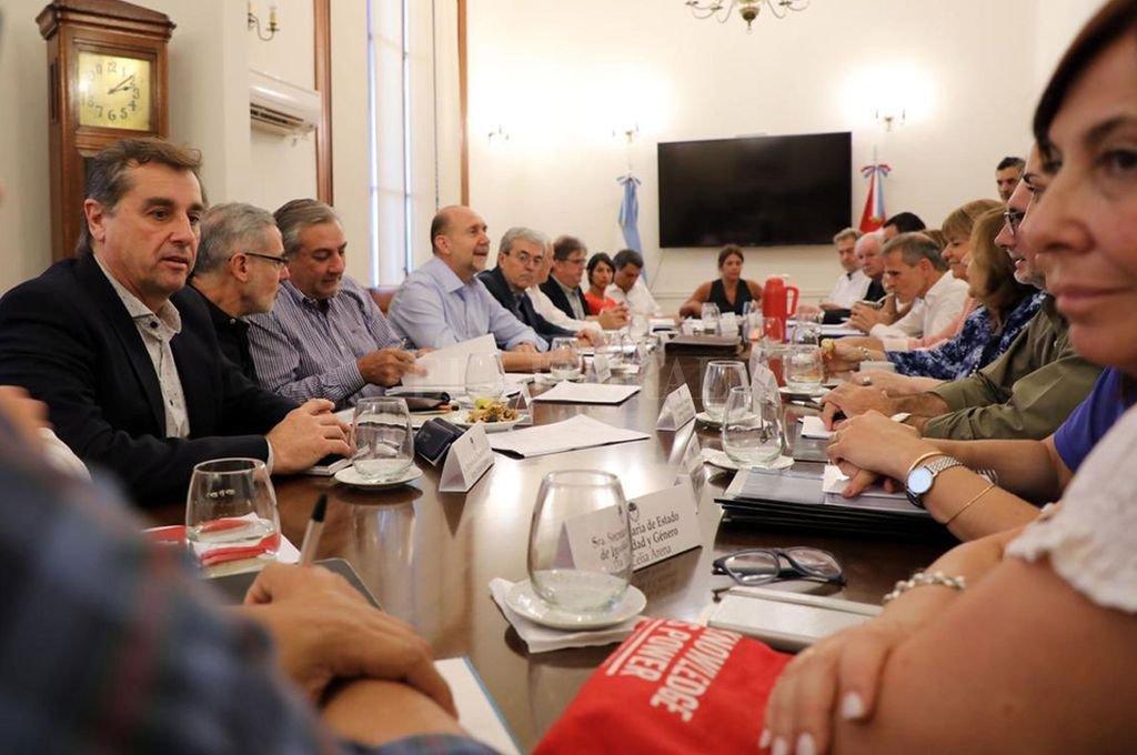 Reunión de gabinete del gobierno provincial. <strong>Foto:</strong> Archivo El Litoral