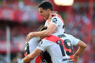 River se quedó con el partido pendiente ante Independiente