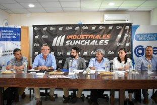 Costamagna propone fortalecer y ampliar las exportaciones de industrias santafesinas
