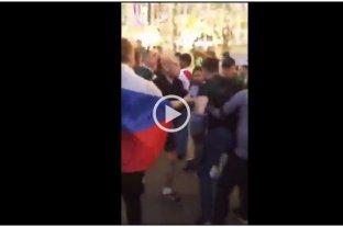 "Viral: intentó frenar una pelea en Rusia gritando ""tranquilovsky"""