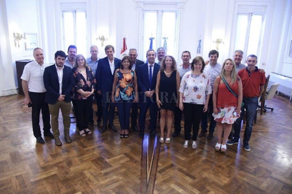 A instancias de Pablo Javkin, intendentes radicales se reunieron en Rosario. <strong>Foto:</strong> Captura de Twitter
