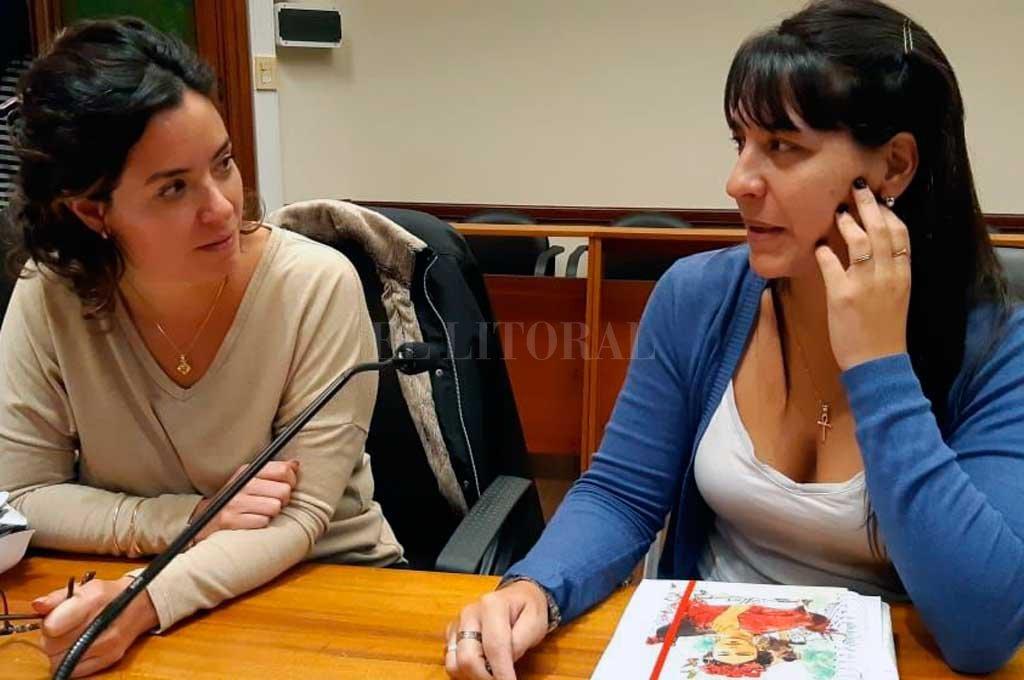 """La fiscales Alejandra Del Río Ayala y María Celeste Minniti comentaron que """"lamentablemente, gran parte de los casos que vemos son de víctimas menores de edad y donde el agresor se encuentra en su círculo íntimo"""". <strong>Foto:</strong> Archivo El Litoral"""