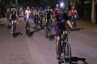 Bicicletada solidaria en San Jerónimo del Sauce