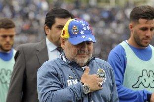 Maradona viajó a Venezuela para reunirse con Maduro