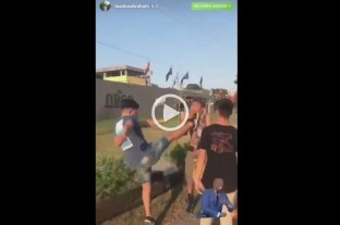 Video: Una patota golpeó a un joven en Villa Gesell