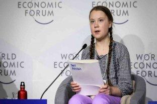 """Greta Thunberg denunció la inacción ante la crisis climática en el Foro de Davos:""""No se ha hecho nada"""""""