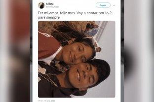 El mensaje desgarrador de la novia de Fernando Báez Sosa en las redes sociales
