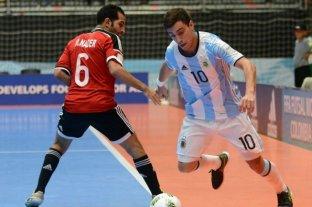 Futsal: la Selección masculina venció 3 a 1 a Chile, de cara a las eliminatorias para el mundial en Lituania