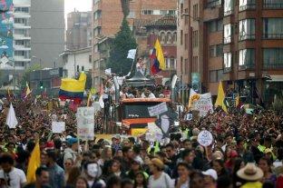Comenzó en Colombia la primera jornada de protestas del año