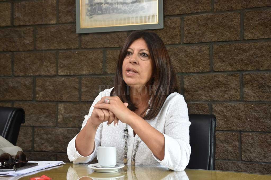 """Clara García """"el necesario que no se pierda la decisión adoptada en cuanto a los datos abiertos"""" en el gobierno de la provincia. <strong>Foto:</strong> Flavio Raina"""