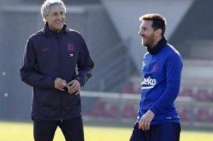 Messi evaluará con Setién un descanso, mientras en Ibiza esperan por su presencia