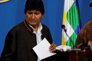 Bolivia: el Tribunal electoral inhabilitó la candidatura de Evo Morales -  -