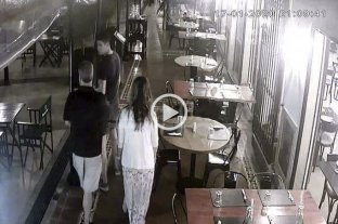 Confirman que el video del último detenido en el restaurante de Zárate no fue incorporado a la causa -  -