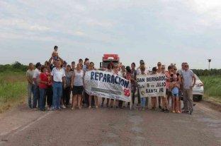 Ruta N° 95: vecinos de San Bernardo y Villa Minetti reclamaron la urgente reparación