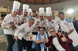 El equipo argentino fue 3° en la Copa del Mundo de Helado Artesanal
