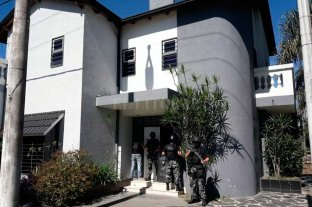 La policía que gastaba dinero como millonaria - La mujer policía pagó un año por adelantado por el alquiler de esta mansión de Guadalupe. Entregó al propietario 420 mil pesos a principios de agosto del año pasado. -