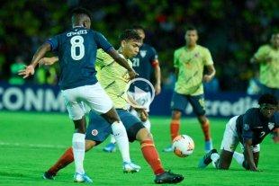 Colombia goleó a Ecuador en el Preolímpico 2020