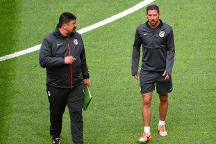 """El """"Mono"""" Burgos dejaría de ser el ayudante de Simeone"""
