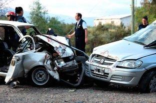 3 muertos tras un choque frontal en la Ruta 40