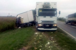 Un choque de camiones en la Ruta Nacional 33 dejó un muerto -  -