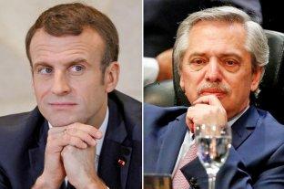 Alberto Fernández mantendrá una reunión con Macron en París