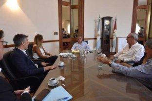"""Borgonovo abre el diálogo - """"Estamos conversando, haciéndoles conocer a todos la nueva versión de los textos y a escuchar iniciativas en este sentido"""", dijo Borgonovo. -"""