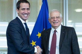 """Guaidó y la UE pidieron un """"enfoque común"""" internacional para afrontar la crisis de Venezuela"""