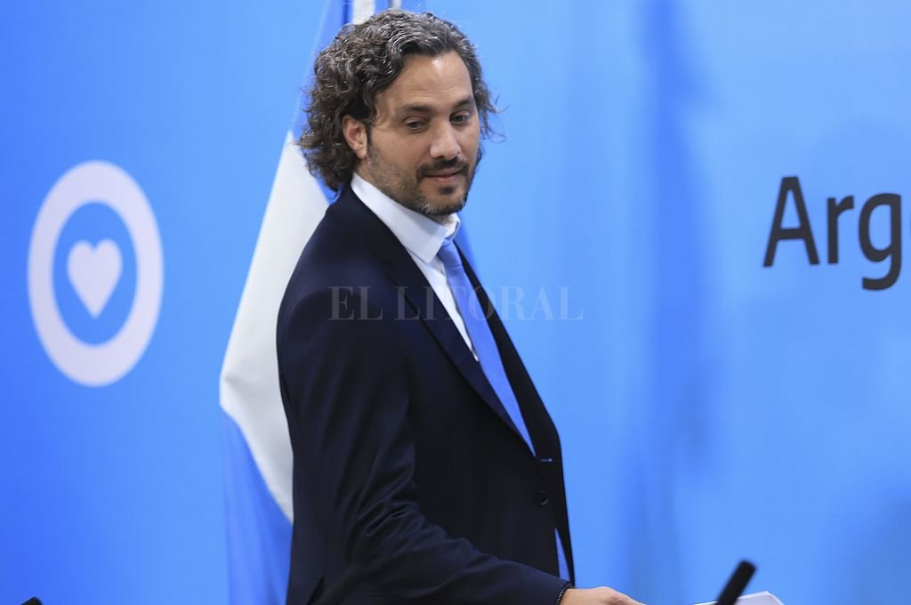 Santiago Cafiero. <strong>Foto:</strong> NA