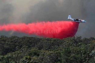 Se estrelló un avión que combatía contra los incendios en Australia