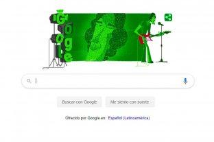 Google homenajea a Spinetta con un doodle por el Día Nacional del Músico -  -