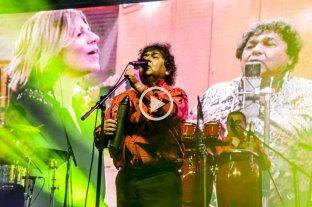 Los Palmeras hicieron bailar a 70 mil personas en Puerto Madryn -
