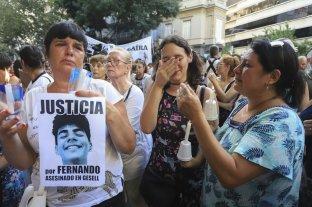 Familiares y amigos marcharon por Fernando Báez Sosa en Recoleta