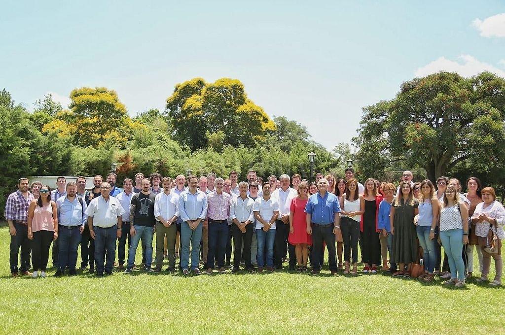 Este jueves quedó conformado el Foro de Autoridades Locales del Partido Socialista. <strong>Foto:</strong> Gentileza