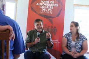 Jatón participó del Foro de Autoridades del Partido Socialista