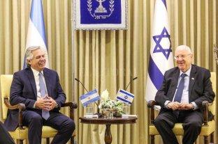 Alberto Fernández se reunió con el presidente de Israel, Reuven Rivlin