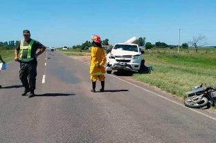 Choque fatal en la Ruta Provincial 1  -