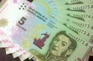 Billetes de 5 pesos: hasta fin de marzo los bancos podrán canjearlos o acreditarlos en cuentas -  -