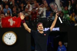 Federer dio vuelta un partidazo y pasó a octavos del Abierto de Australia